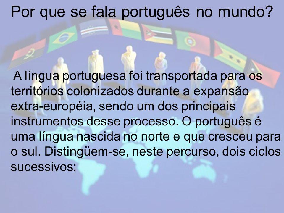 Por que se fala português no mundo