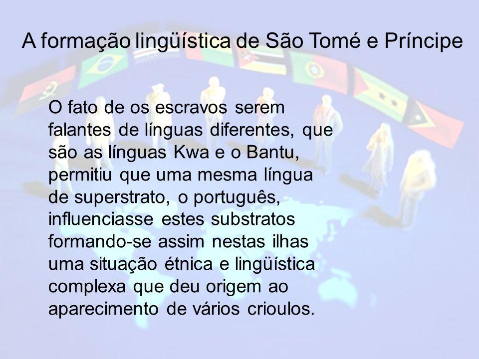 A formação lingüística de São Tomé e Príncipe
