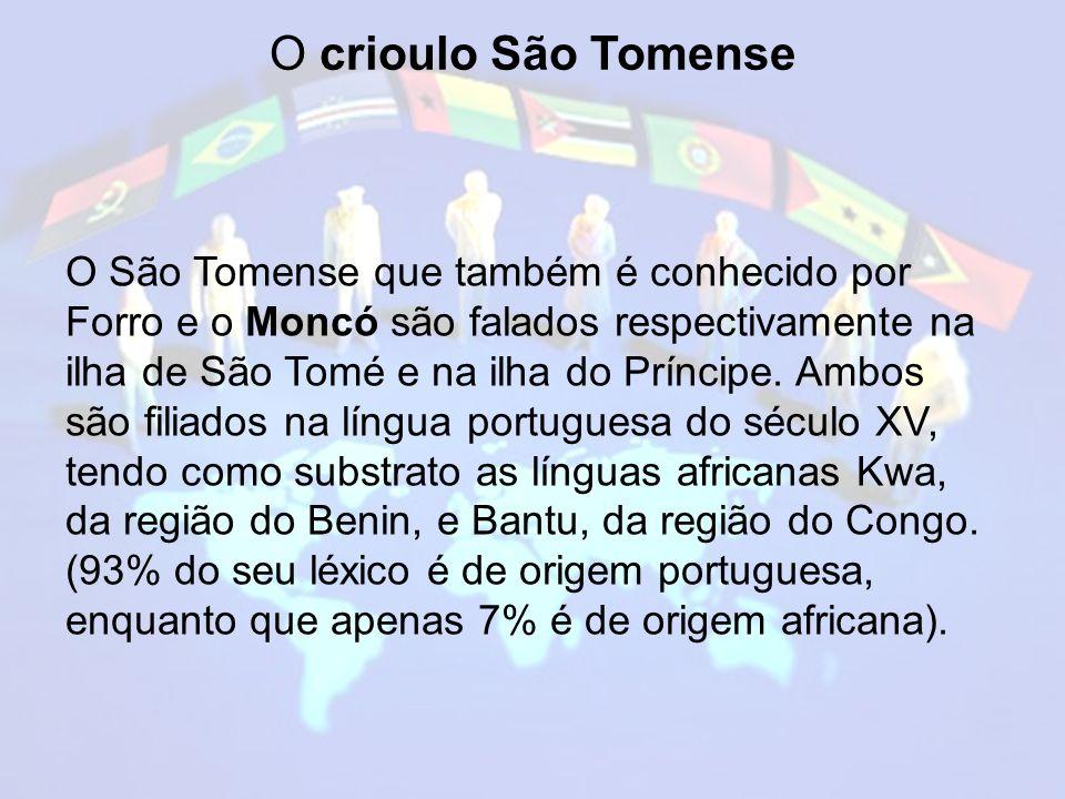 O crioulo São Tomense