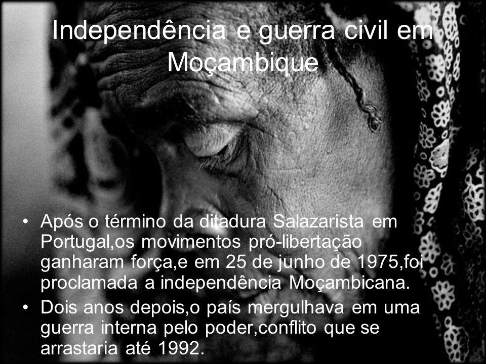 Independência e guerra civil em Moçambique