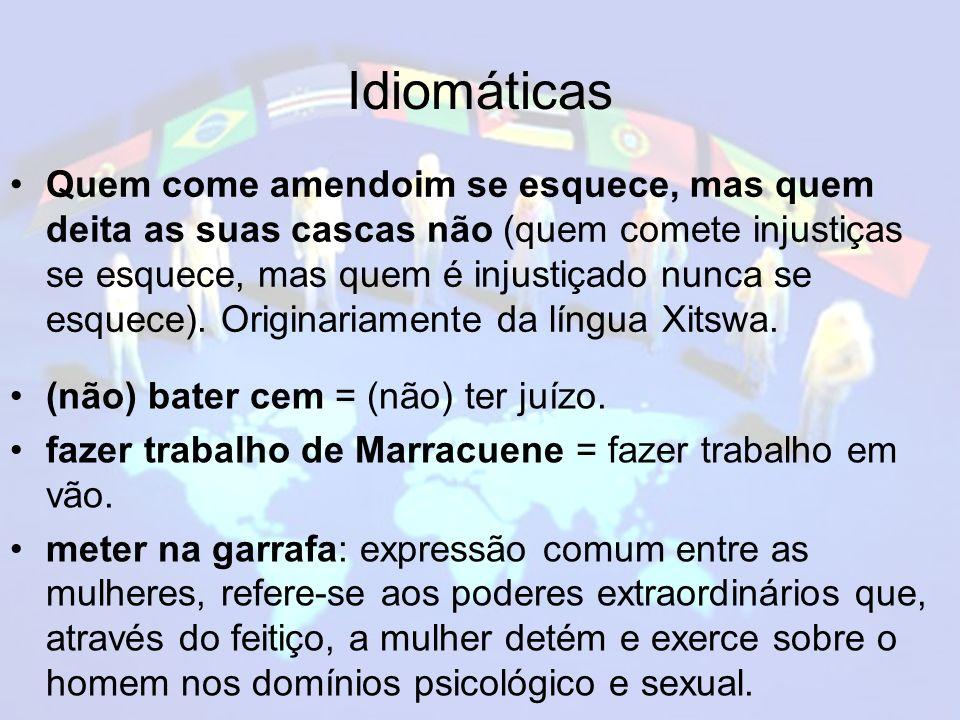 Idiomáticas