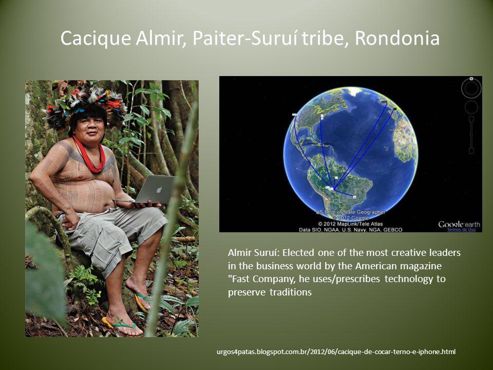 Cacique Almir, Paiter-Suruí tribe, Rondonia
