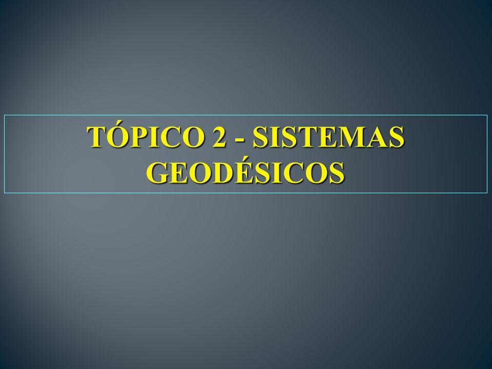 TÓPICO 2 - SISTEMAS GEODÉSICOS