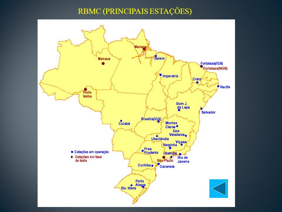 RBMC (PRINCIPAIS ESTAÇÕES)