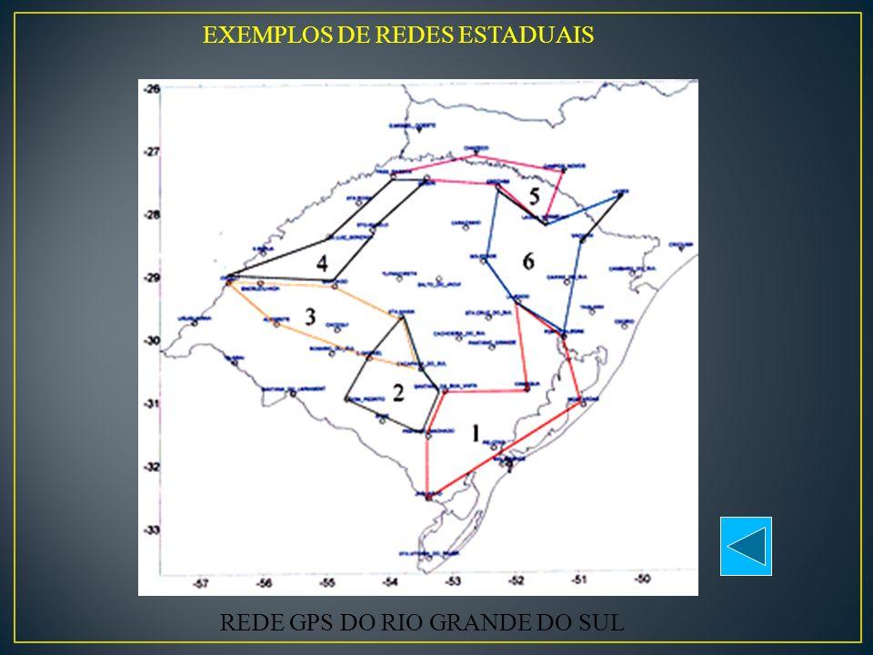 EXEMPLOS DE REDES ESTADUAIS