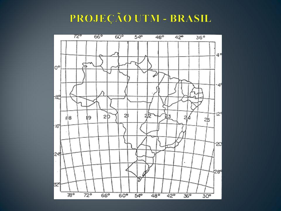 PROJEÇÃO UTM - BRASIL