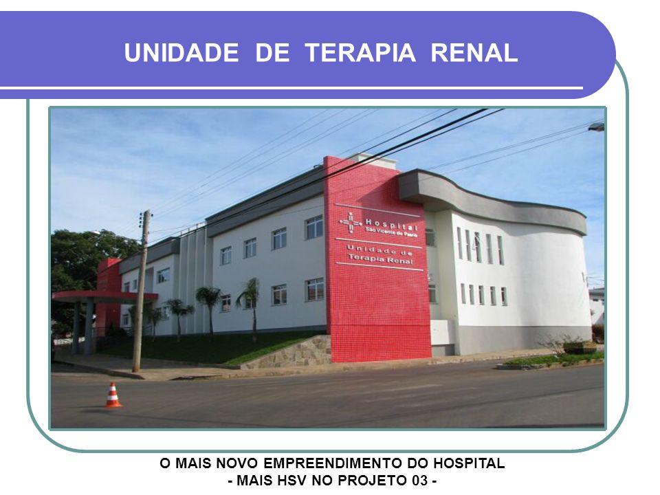 O MAIS NOVO EMPREENDIMENTO DO HOSPITAL - MAIS HSV NO PROJETO 03 -