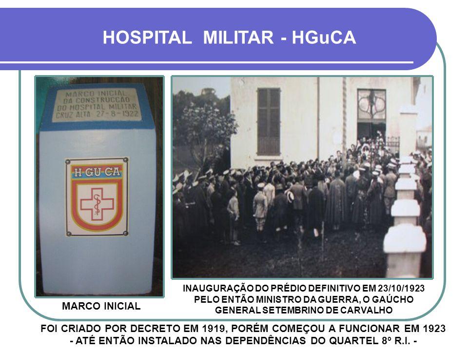 HOSPITAL MILITAR - HGuCA