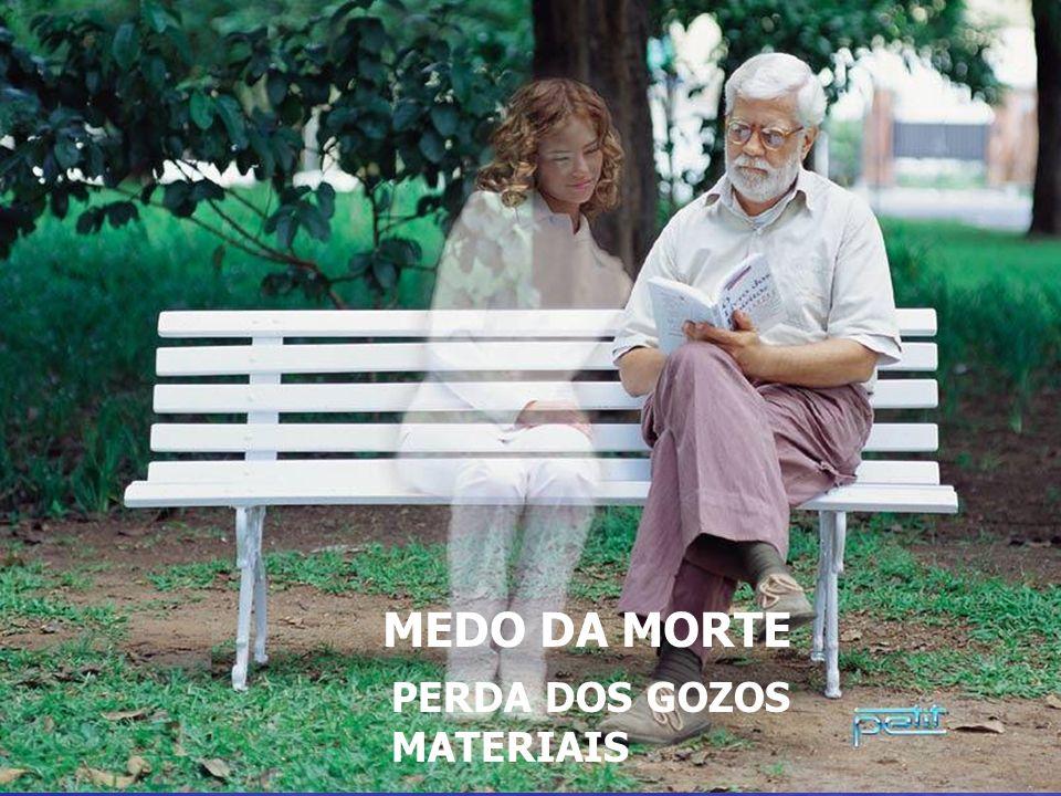 MEDO DA MORTE – PERDA DOS GOZOS MATERIAIS