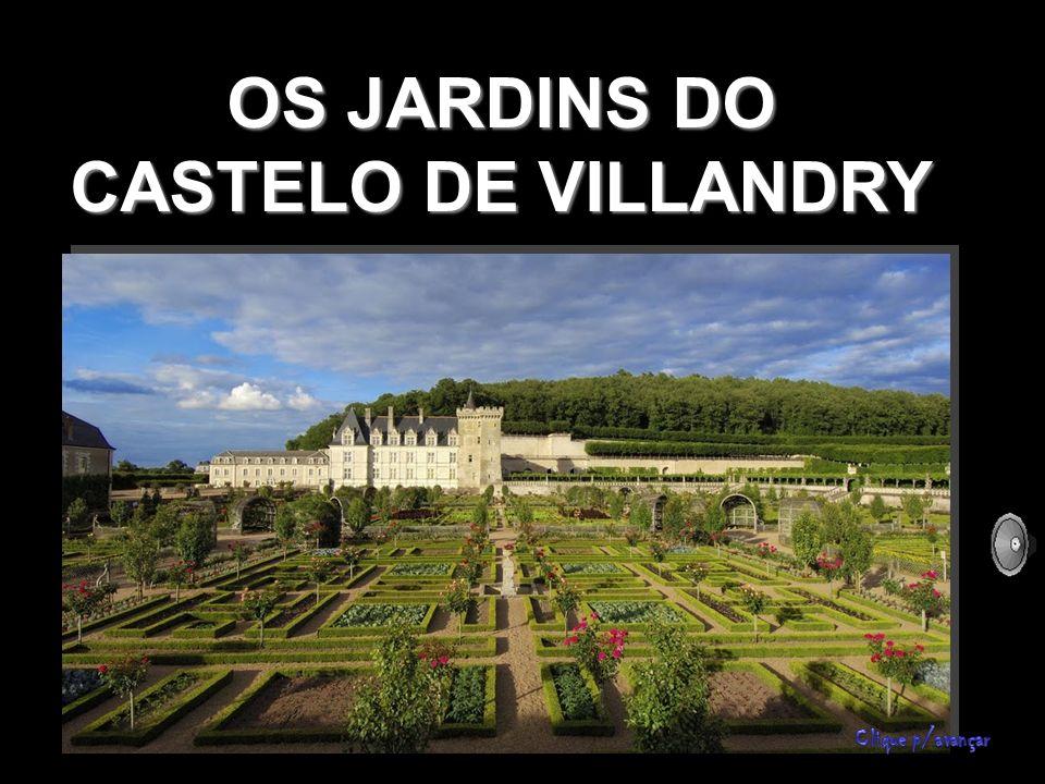 OS JARDINS DO CASTELO DE VILLANDRY