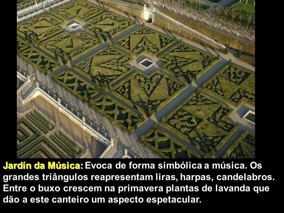 Jardín da Música: Evoca de forma simbólica a música