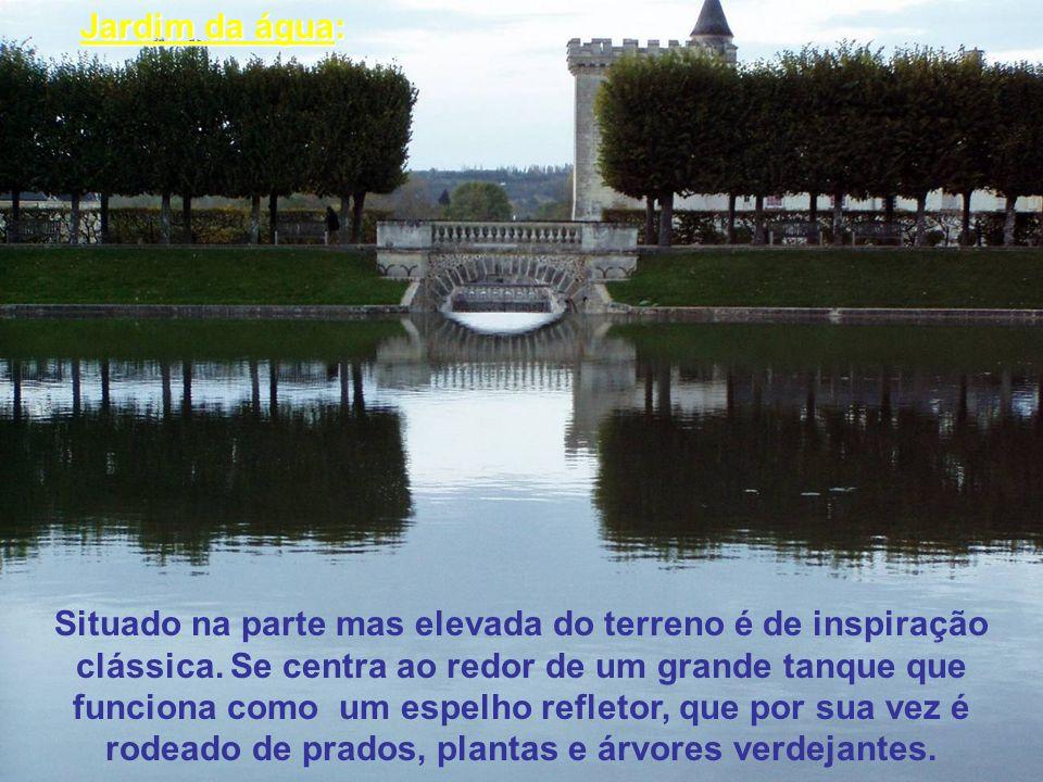 Jardim da água: