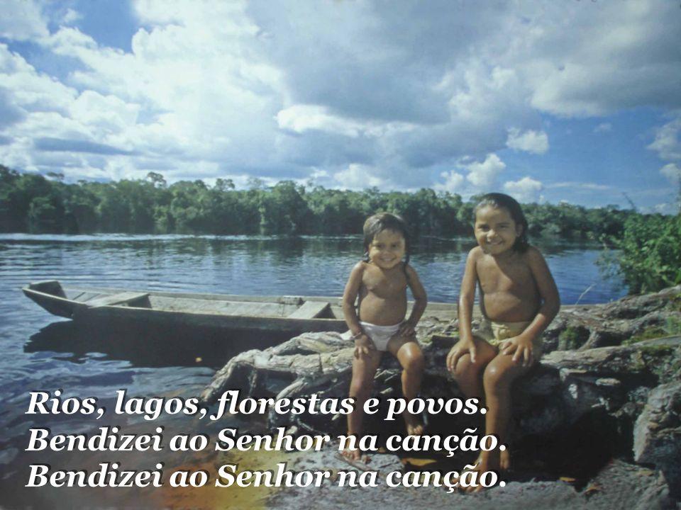 Rios, lagos, florestas e povos.