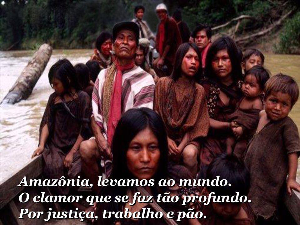 Amazônia, levamos ao mundo. O clamor que se faz tão profundo