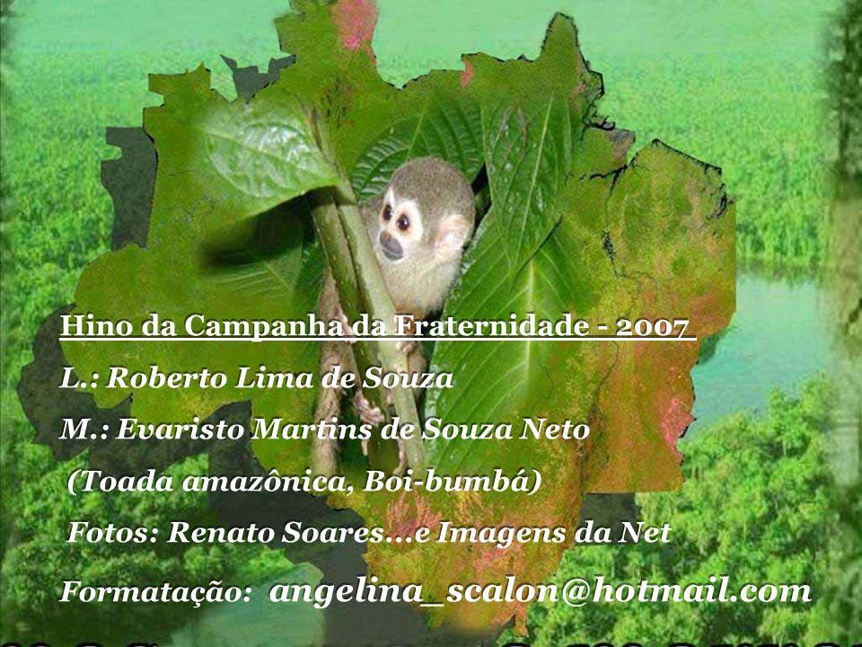 Hino da Campanha da Fraternidade - 2007 L.: Roberto Lima de Souza