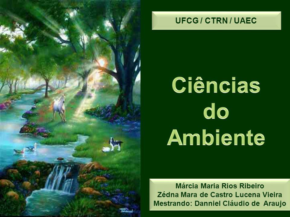 Ciências do Ambiente UFCG / CTRN / UAEC Márcia Maria Rios Ribeiro