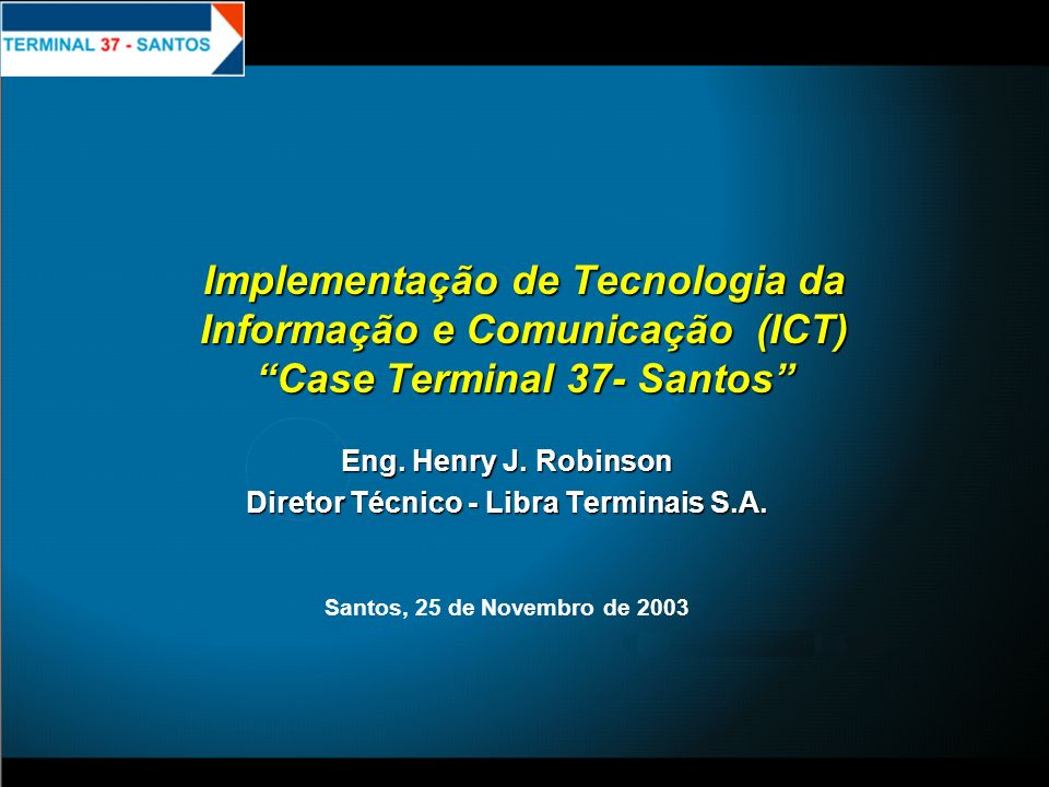 Diretor Técnico - Libra Terminais S.A.
