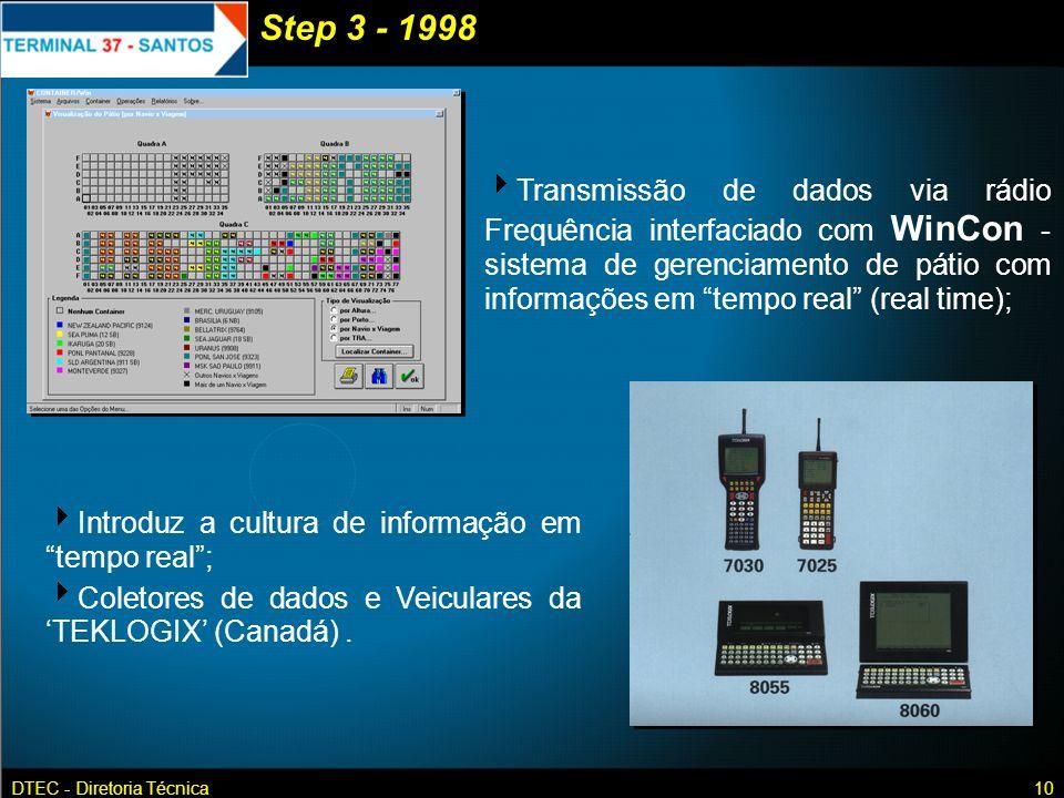Step 3 - 1998