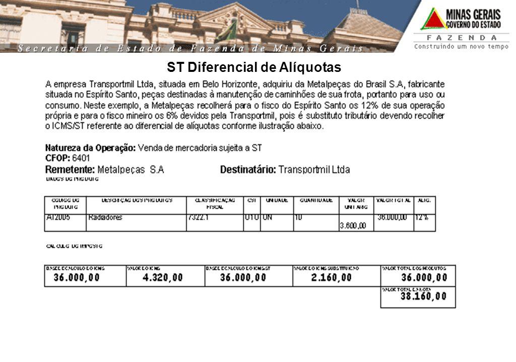 ST Diferencial de Alíquotas