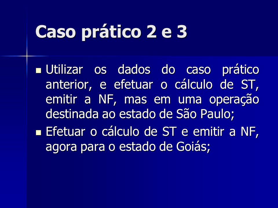 Caso prático 2 e 3