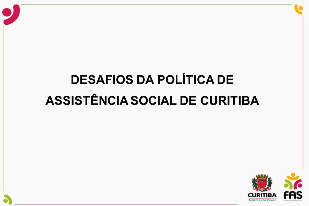 DESAFIOS DA POLÍTICA DE ASSISTÊNCIA SOCIAL DE CURITIBA