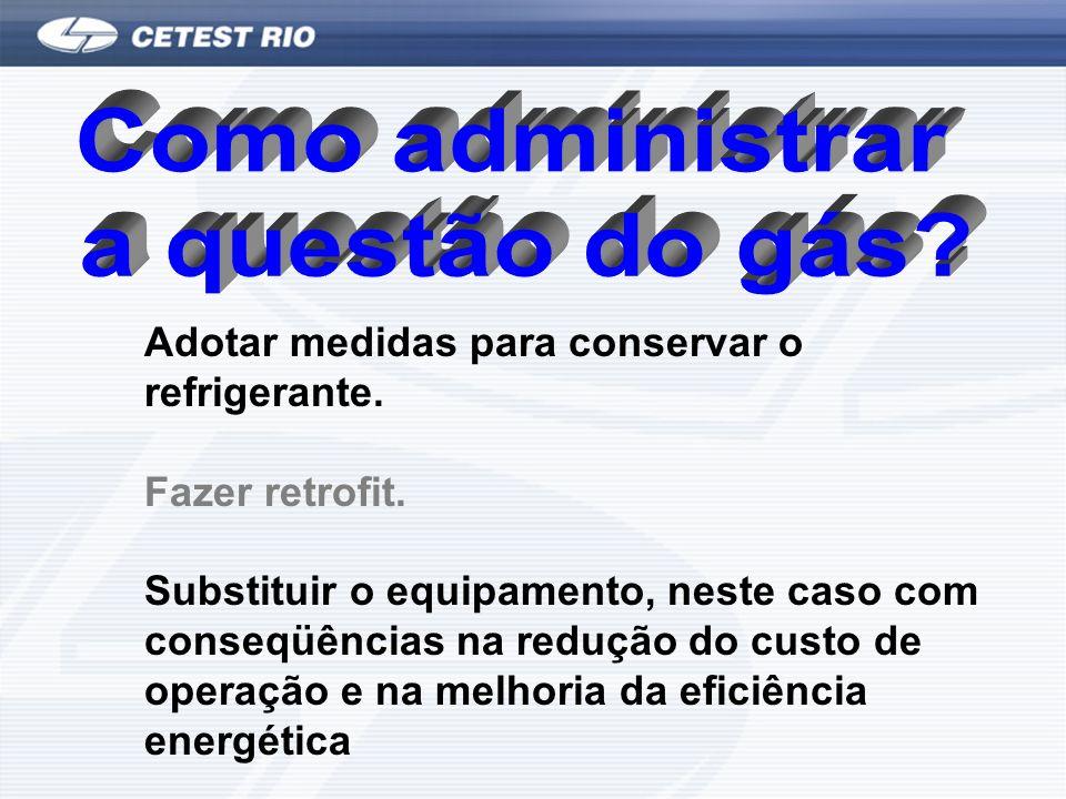 Como administrar a questão do gás