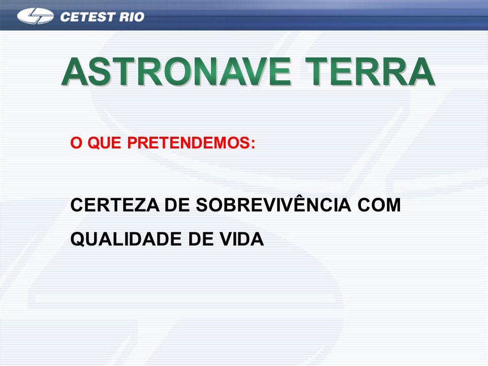 ASTRONAVE TERRA CERTEZA DE SOBREVIVÊNCIA COM QUALIDADE DE VIDA