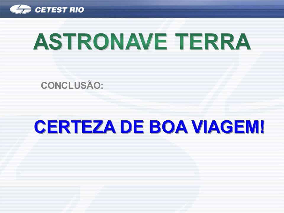 ASTRONAVE TERRA CERTEZA DE BOA VIAGEM! CONCLUSÃO:
