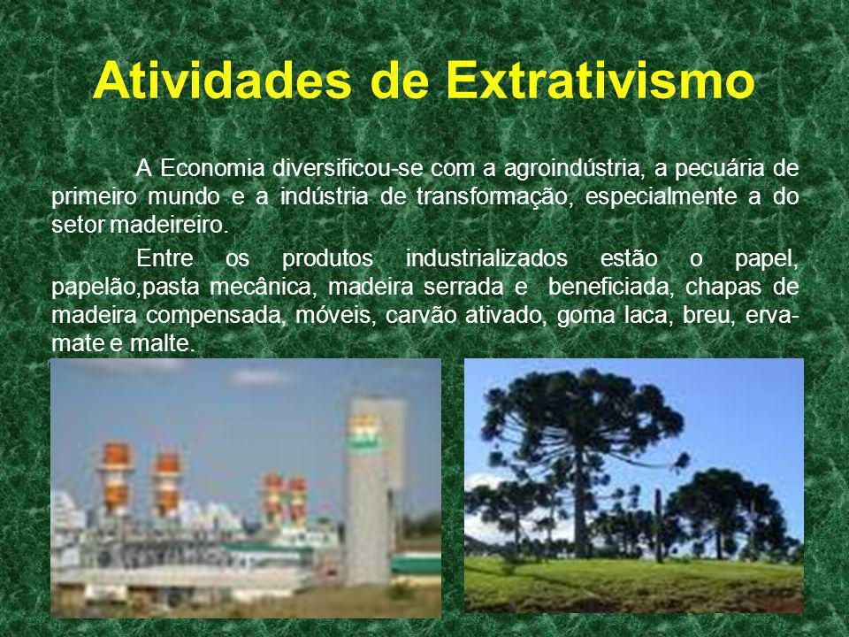 Atividades de Extrativismo