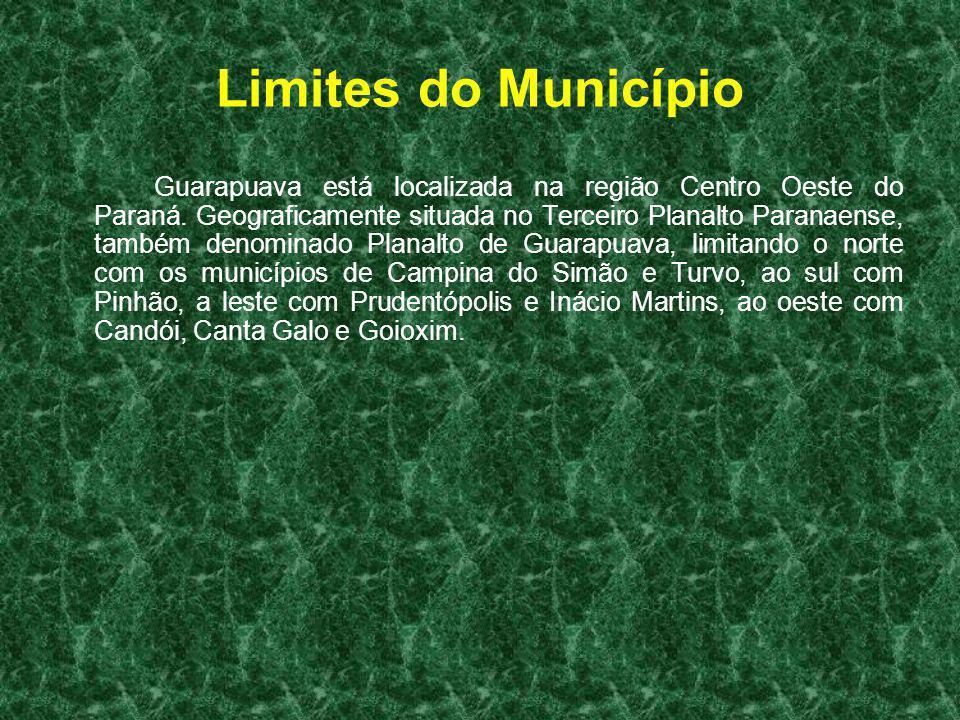 Limites do Município