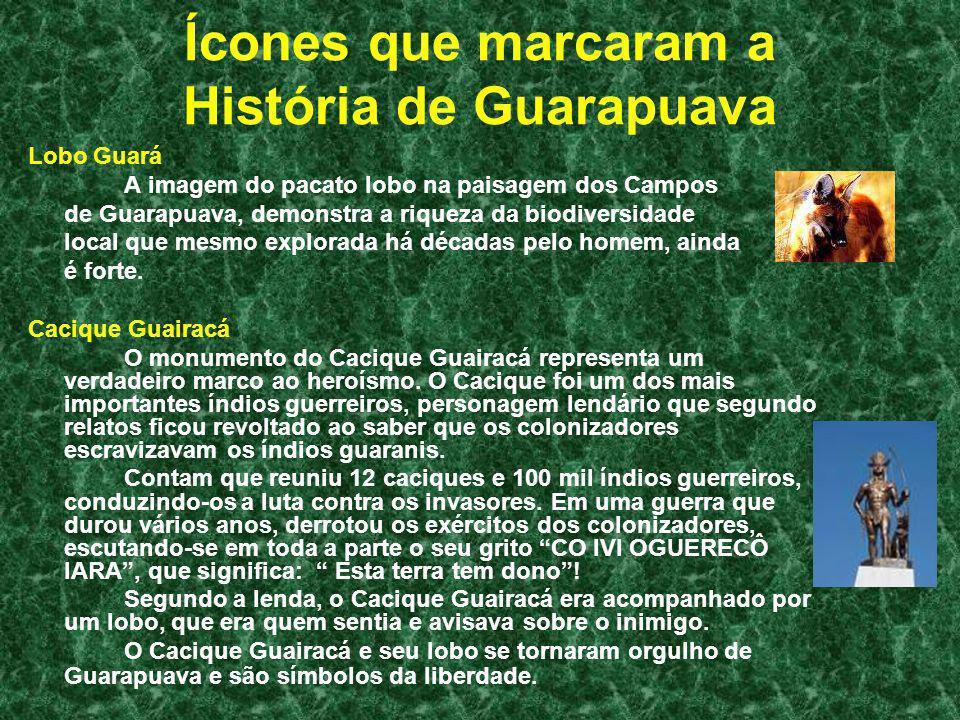 Ícones que marcaram a História de Guarapuava