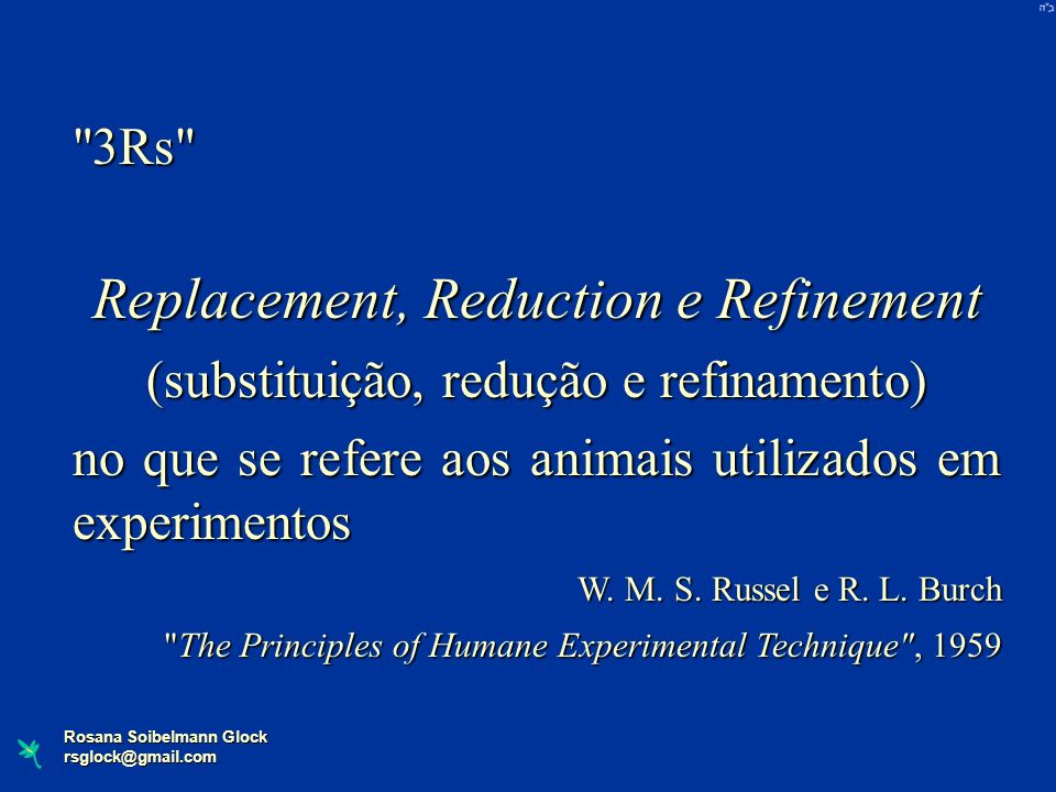 Replacement, Reduction e Refinement