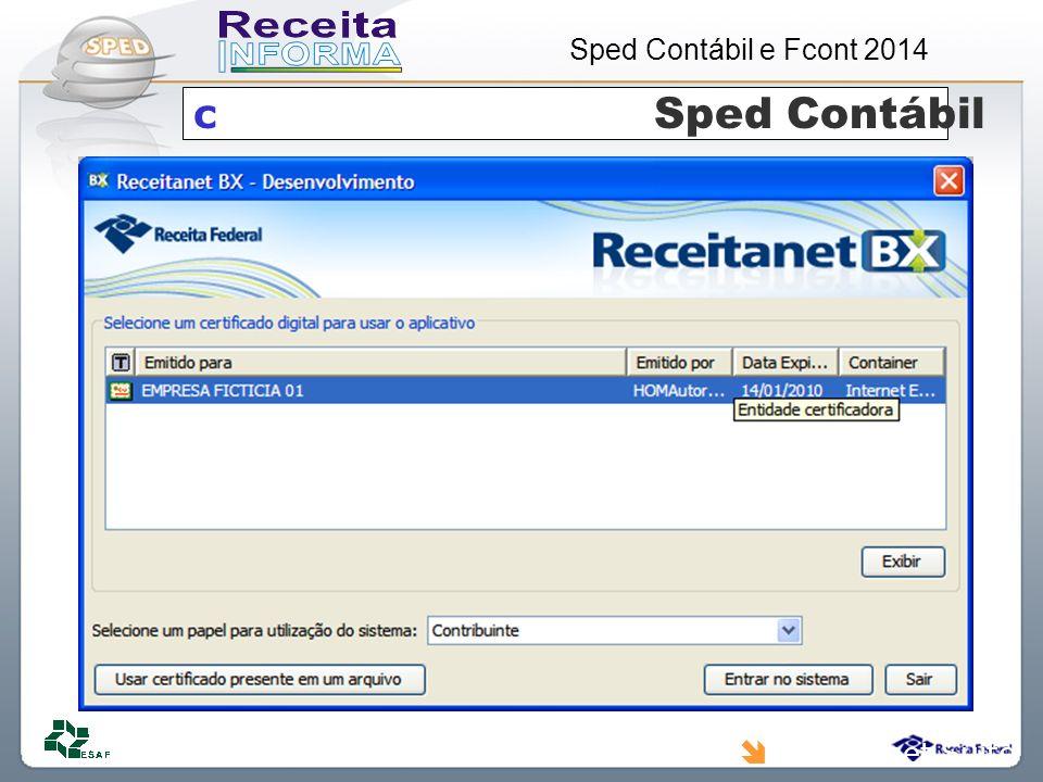 c Sped Contábil Receitanet Suite