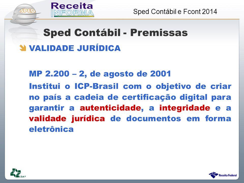 Sped Contábil - Premissas