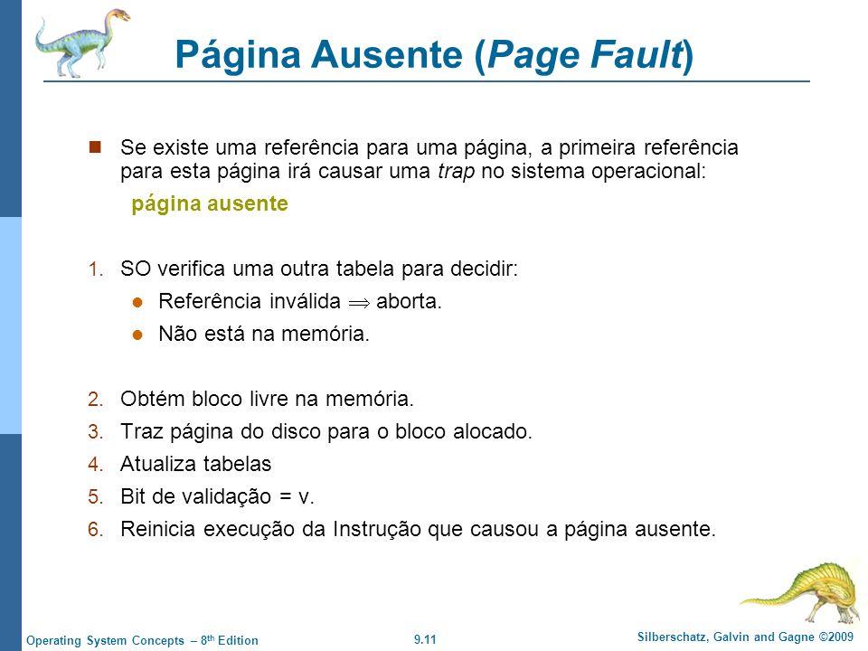 Página Ausente (Page Fault)