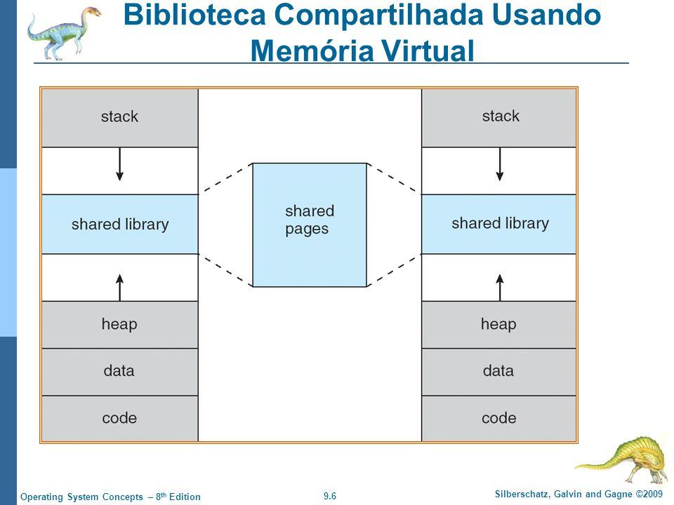 Biblioteca Compartilhada Usando Memória Virtual