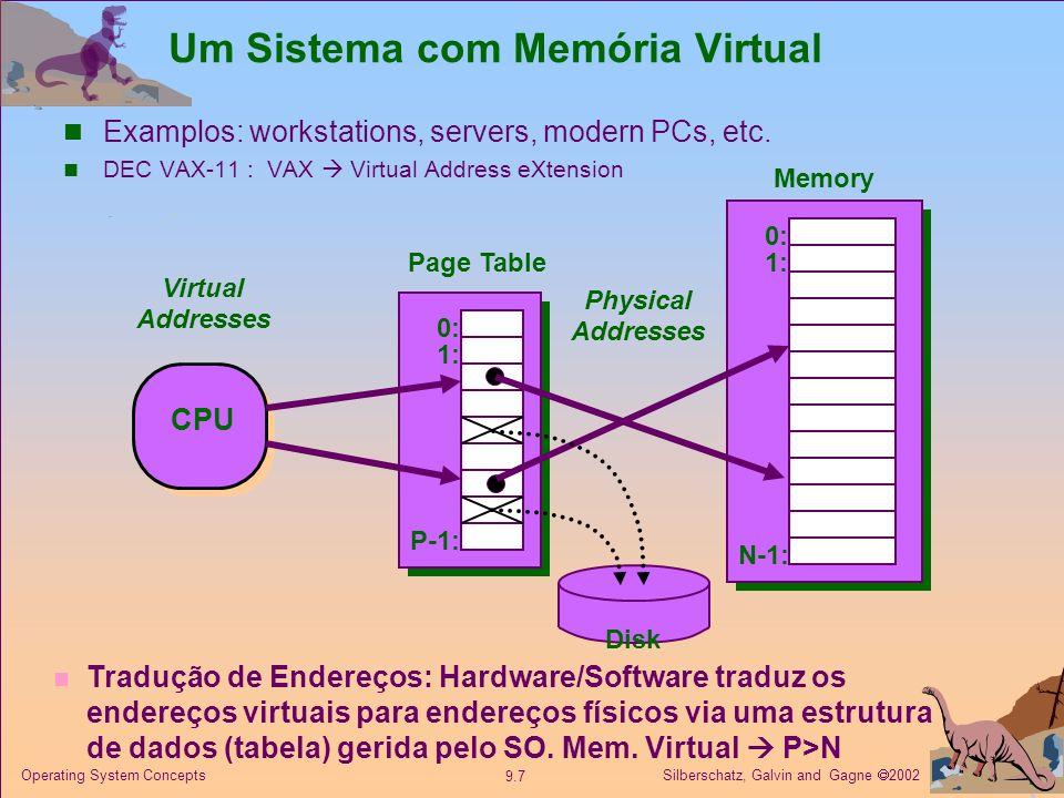 Um Sistema com Memória Virtual
