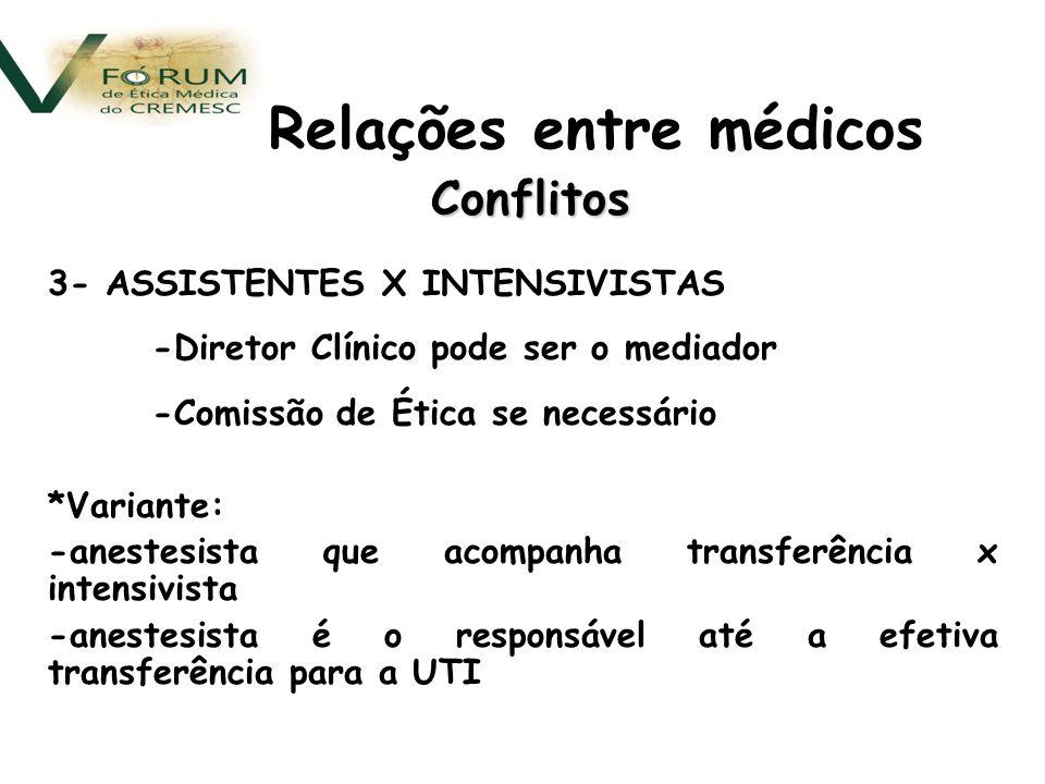 Relações entre médicos