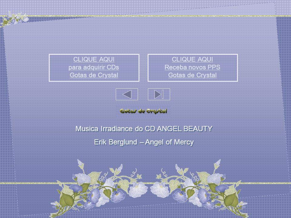 Musica Irradiance do CD ANGEL BEAUTY Erik Berglund – Angel of Mercy
