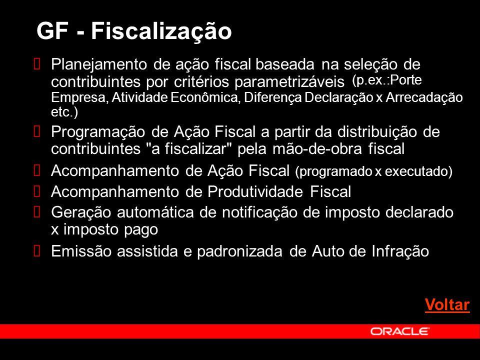GF - Fiscalização