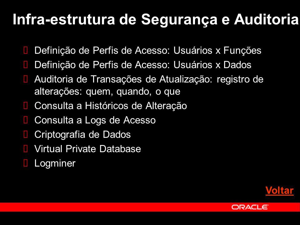 Infra-estrutura de Segurança e Auditoria