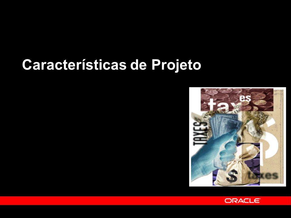 Características de Projeto