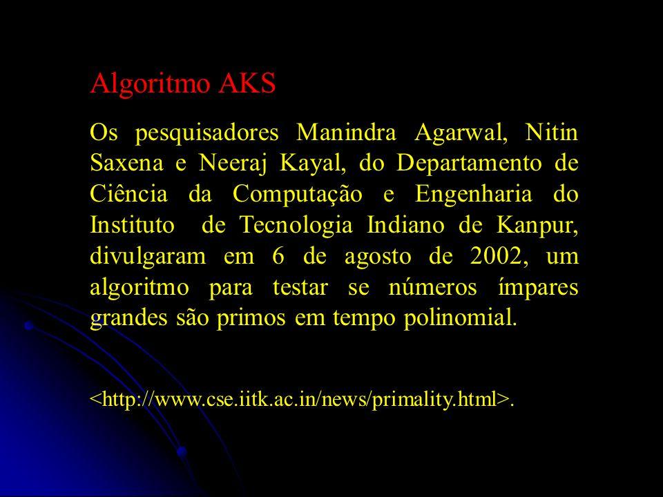 Algoritmo AKS