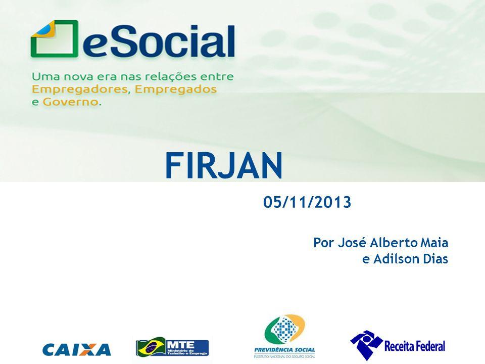 FIRJAN 05/11/2013 Por José Alberto Maia e Adilson Dias 1 Público Alvo:
