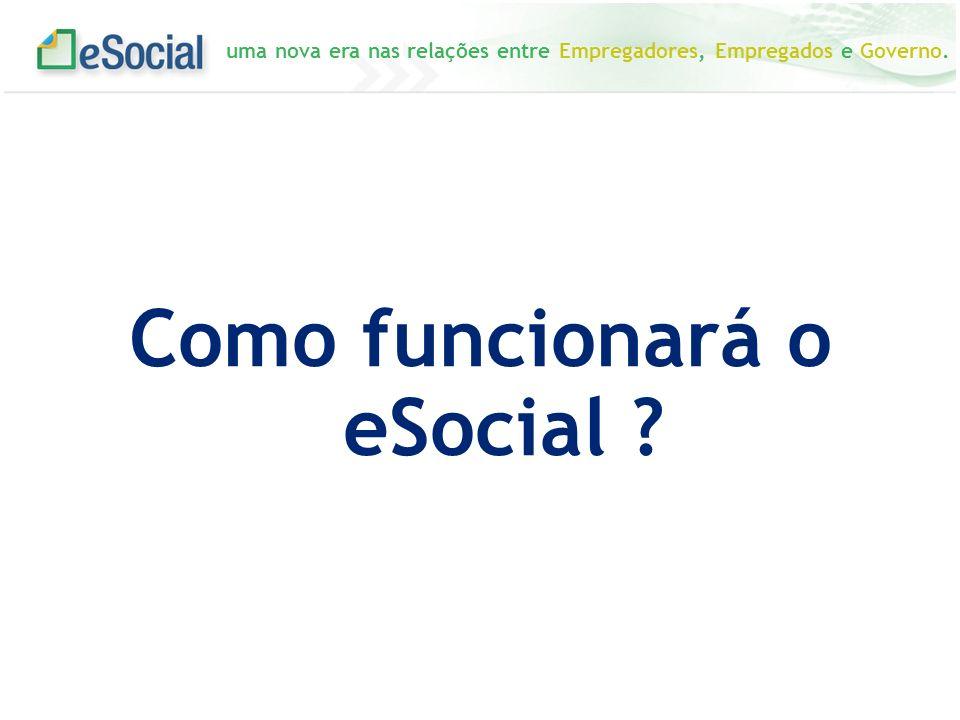 Como funcionará o eSocial