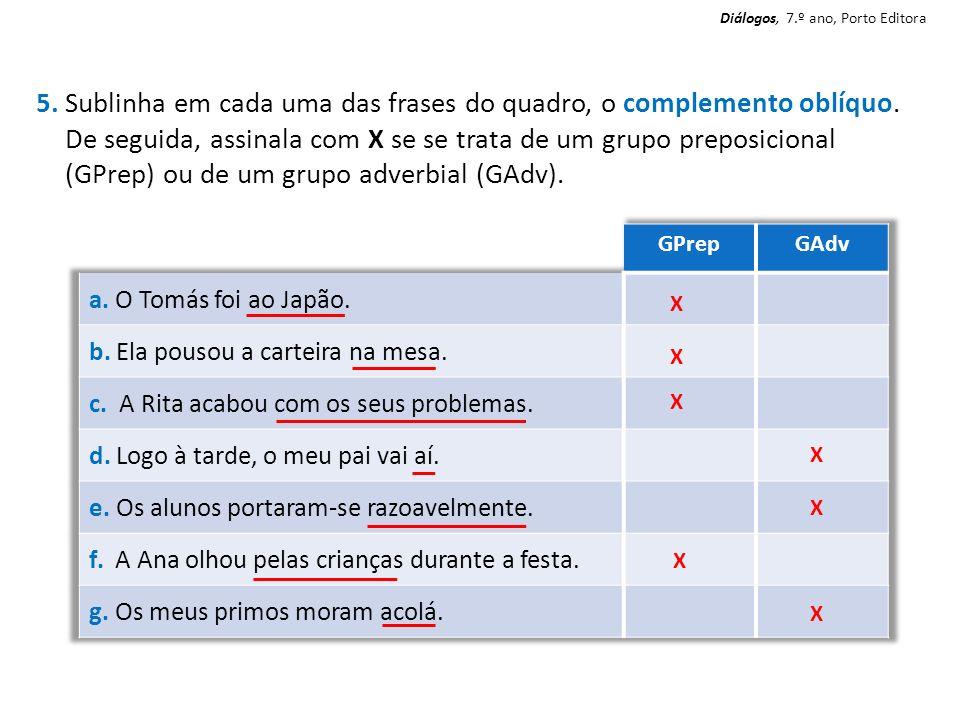 Diálogos, 7.º ano, Porto Editora