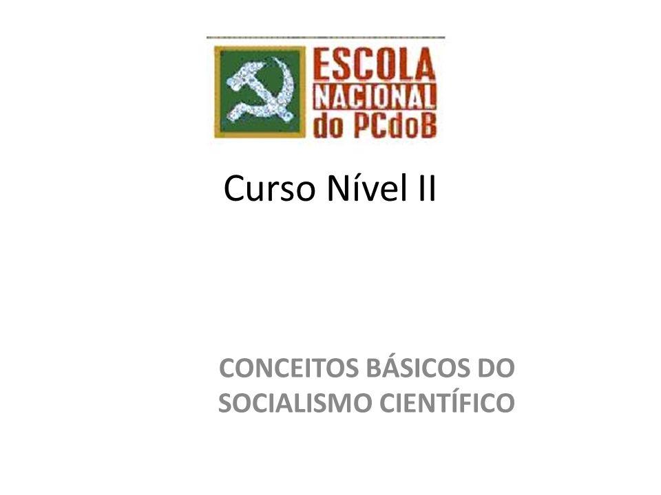 CONCEITOS BÁSICOS DO SOCIALISMO CIENTÍFICO