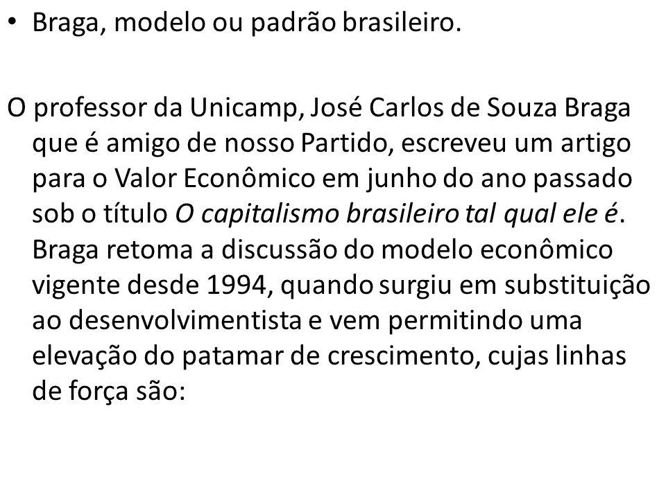 Braga, modelo ou padrão brasileiro.