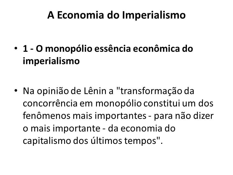 A Economia do Imperialismo