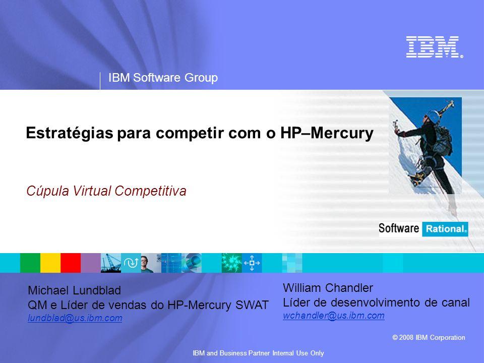 Estratégias para competir com o HP–Mercury